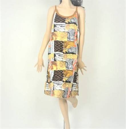 Sukienka Plażowa Bawełna PACZWORK GOLD L