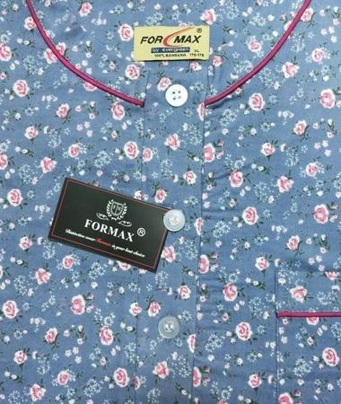 koszula nocna klasyczna FLANELOWA DENIM M-XXL