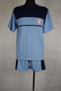 piżama męska BELLO GRANAT/SZARY S-XXL (44-60)