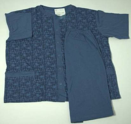 piżama męska KONRAD - GRANAT 3XL-5XL