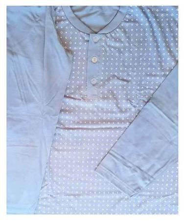 piżama męska MAX - JASNY DENIM M-XXL